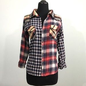 Marc Jacobs Medium (Runs Small) Plaid Flannel Top